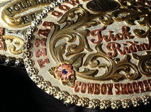 A cut above buckle