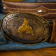 history custom belt buckles